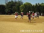 練習試合前